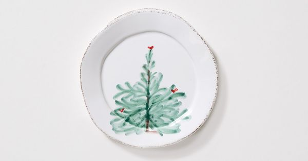 Vietri lastra holiday canape plate create a festive for Christmas canape plates