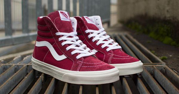 Vans Sk8 Hi Red