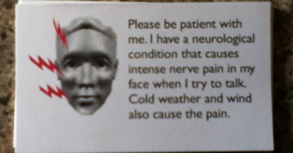 Facial pain tooth cold