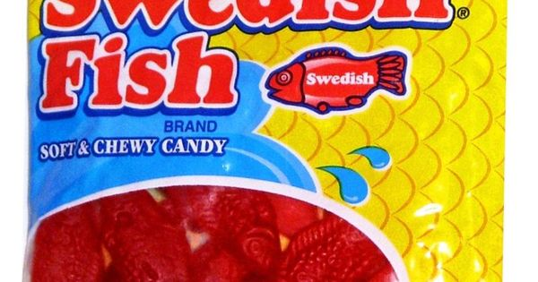 Swedish fish candy soft chewy red candies for Are swedish fish vegan