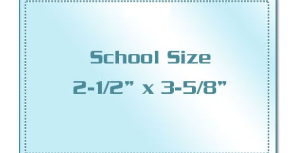 School Size Laminating Pouches Drivers License Pouch School