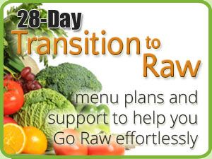 how to transition to raw food diet