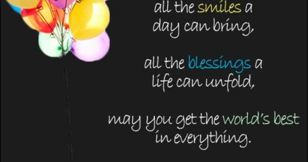 Wishing you a Happy Birthday! | Random Quotes | Pinterest ...