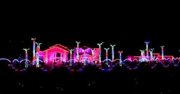 El Paso Fred Loya Christmas Lights Show 2012 1080p Hd