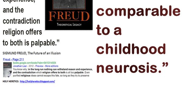 """is freuds religious belief of the Sigmund freud """"the future of an illusion"""" (1927) 1 freud gives a psychological account for why religious ideas emerged and why they are so attractive."""