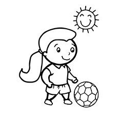 Soccer Ball Coloring Pages Free Printables Sports Coloring