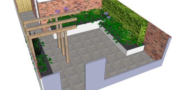 Tuinidee met pergola google zoeken de nieuwe tuin for Eigen moestuin ontwerpen en aanleggen