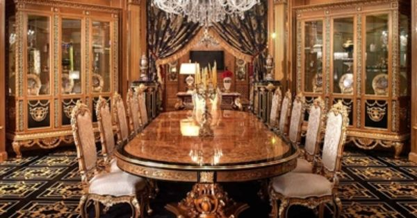 Luxury Dining Furniture Exquisite, King Louis Dining Room Set