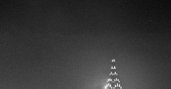 #fog foggy cloudy chryslerbuilding night newyork nyc manhattan