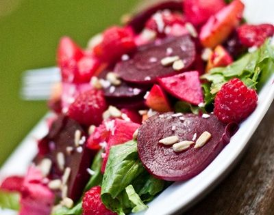 Beets, My heart and Salads on Pinterest