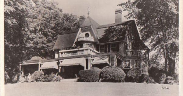 Old Port Henry New York Maple Inn Rp Photo Ny Postcard