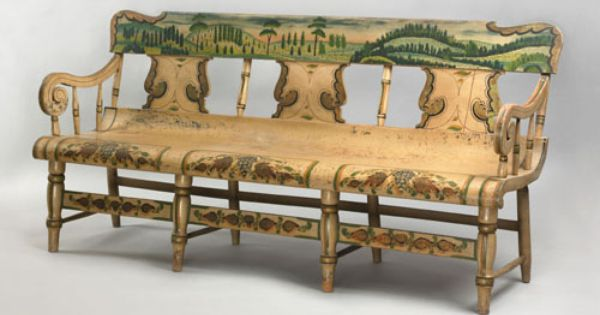 Pin By Diane On Pennsylvania Chairs Fine Antique Furniture Hand Painted Chairs Early American Furniture