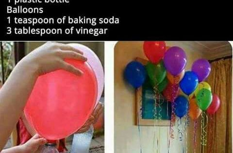 Filling Balloons without a Helium Tank | Natural Remedies ...