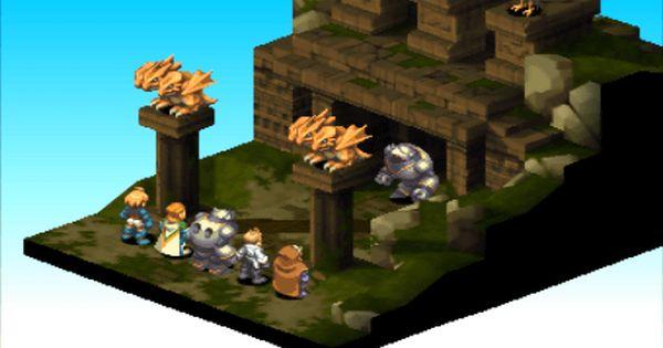 Final Fantasy Tactics Catuse Steel Ball Found Final Fantasy Tactics Final Fantasy Fantasy