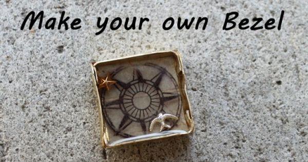 46PCS Open Bezel DIY Creative Decorative Open Back Bezel for Jewelry Making