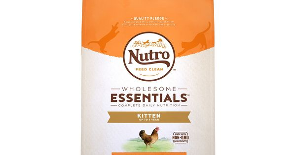 Nutro Natural Choice Wholesome Essentials Kitten Food Size 6 5 Lb