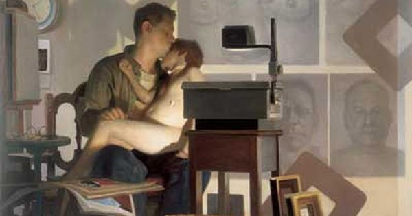 Vincent Desiderio, An Allegory of Painting 2003 oil on ...