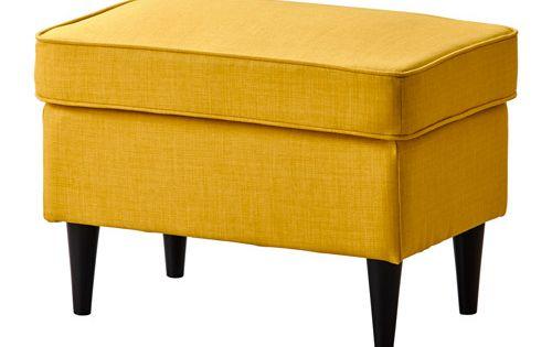 strandmon repose pieds skiftebo jaune repose pieds jaune et pieds. Black Bedroom Furniture Sets. Home Design Ideas