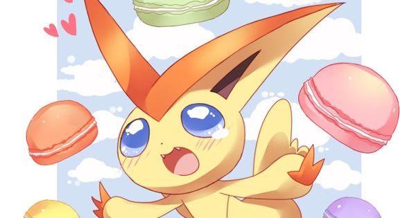 Victini The Macaroon Addict Pokemon Pinterest Pok 233 Mon And Anime