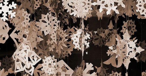 Snowflake PATTERNS, Set No. 1 . . . Winter Wonderland Paper Snowflakes