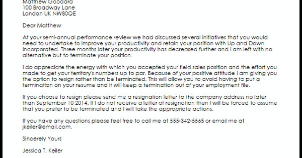 Luxury Termination Letter From Job Pictures  WbxoUs