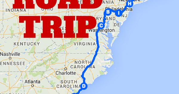 the best ever east coast road trip itinerary royal oak