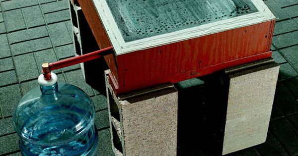 Make Your Own Distilled Water ~ Make distilled water with this diy device http