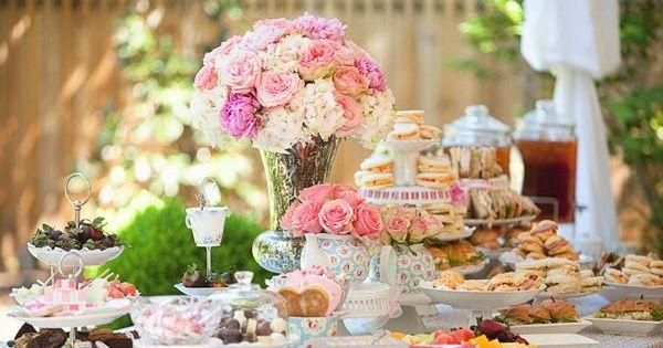 5 super chic bridal shower ideas- Parisienne theme, high tea, strawberry shortcake