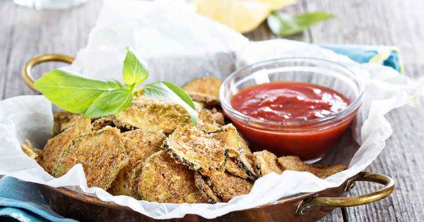 Zucchini Parmesan Crisps (Chips) | Recipe | Zucchini parmesan crisps, Philips air fryer and ...