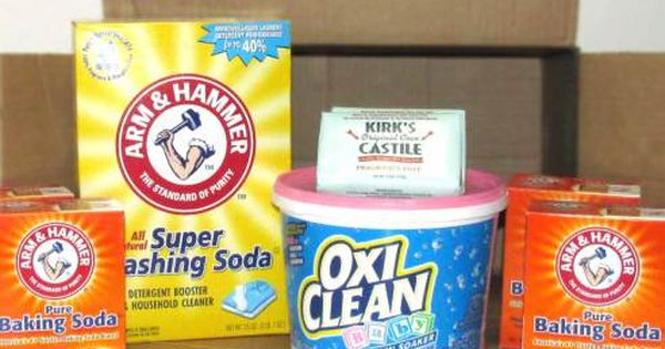 All Natural Borax Free Homemade Laundry Detergent Homemade