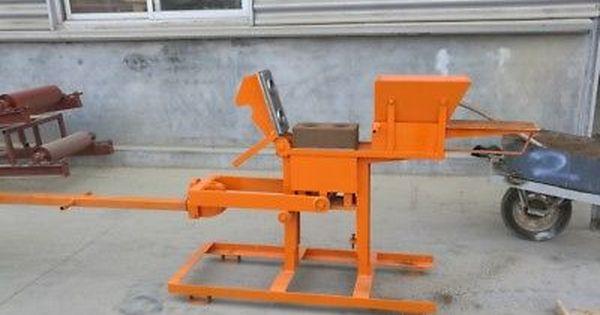 New Manual Clay Interlocking Brick Making Machine No1 No2 Block Mold Ship By Sea Ladrillo Artesanias