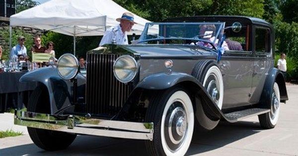 1933 Rolls Royce Phantom Ii Sedanca De Ville By Brewster Rolls Royce Phantom Rolls Royce Classic Cars