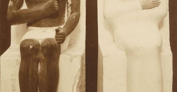 an examination of the funerary statues of prince rahotep and his wife nofret An examination of the funerary statues of prince rahotep and his wife, nofret.