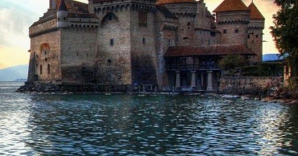 Chillon Castle, Switzerland. | Lakes, Programming and Geneva