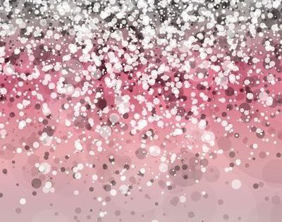 Pink And Silver Glitter Wallpaper