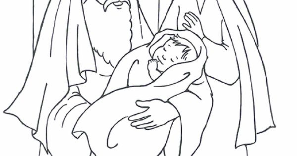 bible coloring pages simeon - photo#9