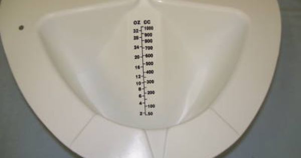 Speciman Container Texas Hat Urine Collection Device Texas Hat Urinal Container