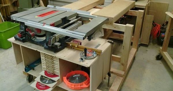 Table And Miter Saw Table 2 Dry Fit Nearly There By Holbs Lumberjocks Com Woodworking Community Miter Saw Table Woodworking Table Saw Woodworking