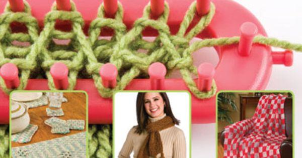 Website with lots of Loom Knitting info crochet Loom Loom Knitting loom