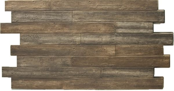 Weathered Wood Tongue And Groove Faux Panels Brown Reclaimed Wood Paneling Faux Stone Sheets Wood