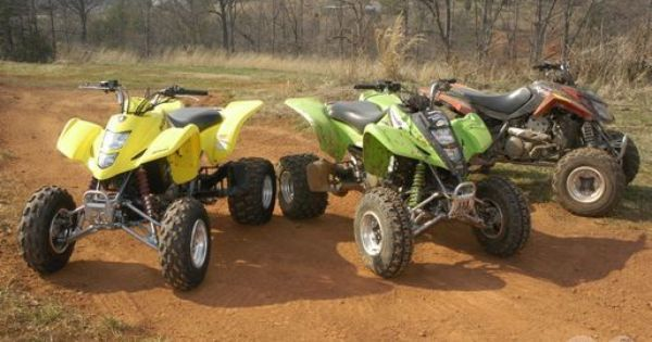 Arctic Cat Dvx400 Kawasaki Kfx400 And Suzuki Lt Z400 Atv Quads The Incredibles Atv