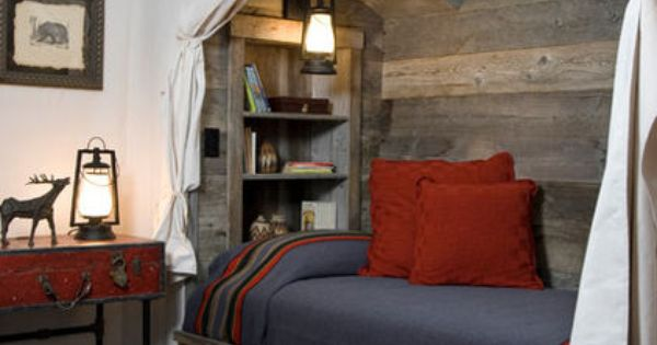 Eclectic Bedroom By Montana Reclaimed Lumber Co Pipe Base For Suitcase Table Diy Home