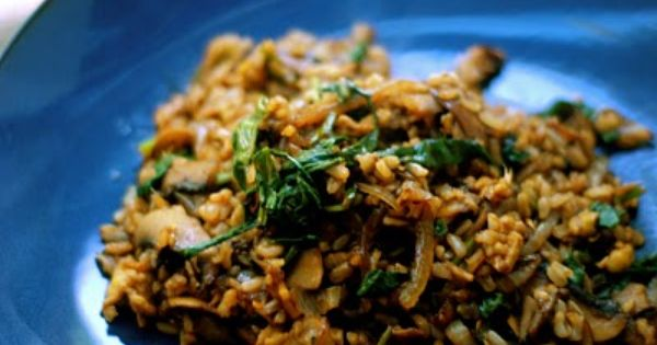 """Asian Vegetable """"Fried"""" (Brown) Rice – $.85 