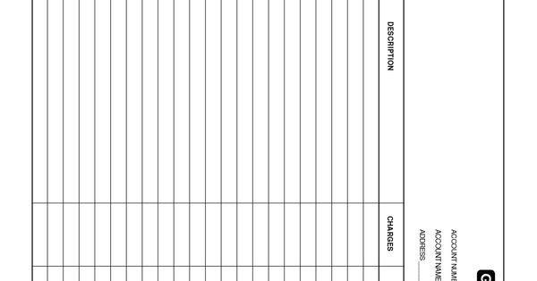 blank general ledger template