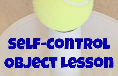 Self Control Object Lesson Joshua 7 Object Lessons