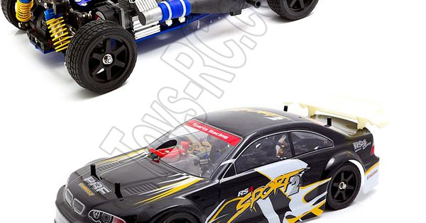 henglong sprint 3850 1 1 10 scale 18cc engine nitro rc. Black Bedroom Furniture Sets. Home Design Ideas