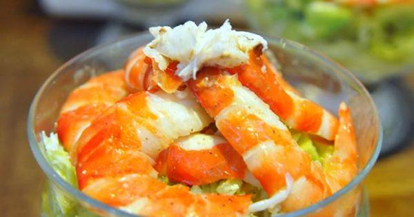 C ctel de marisco receta mariscos aperitivos y recetas - Aperitivos de mariscos ...