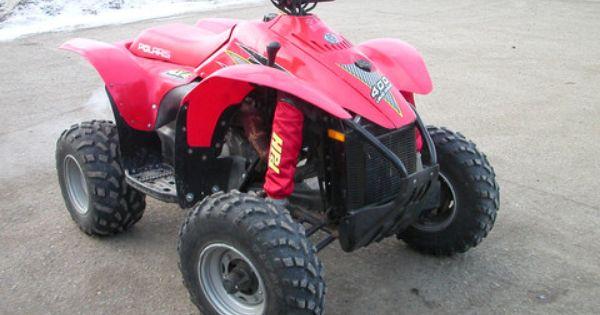 Polaris Scrambler Motorcross Atv