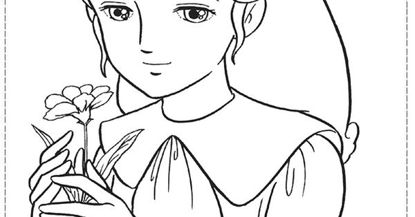 Lovely Sarah Coloring Pages Cartoon Coloring Pages Coloring Pages Blue Flower Wallpaper