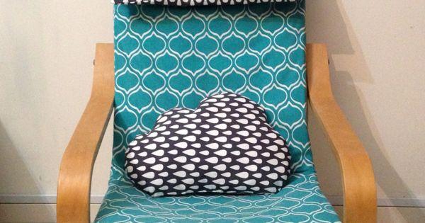 housse pour poang enfants le fameux fauteuil ikea et coussin cumulus id es couture. Black Bedroom Furniture Sets. Home Design Ideas